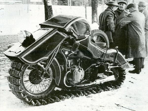 1936 BMW Schneekrad snow machine