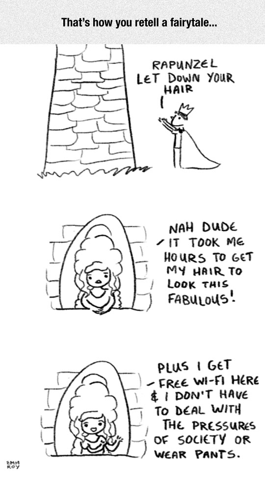 funny-cartoon-Rapunzel-story-change
