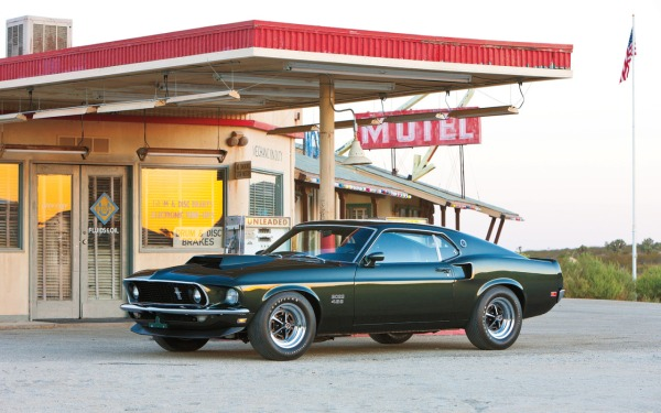 The Hottest Muscle Cars In the World: 1969 Ford Mustang Boss 429