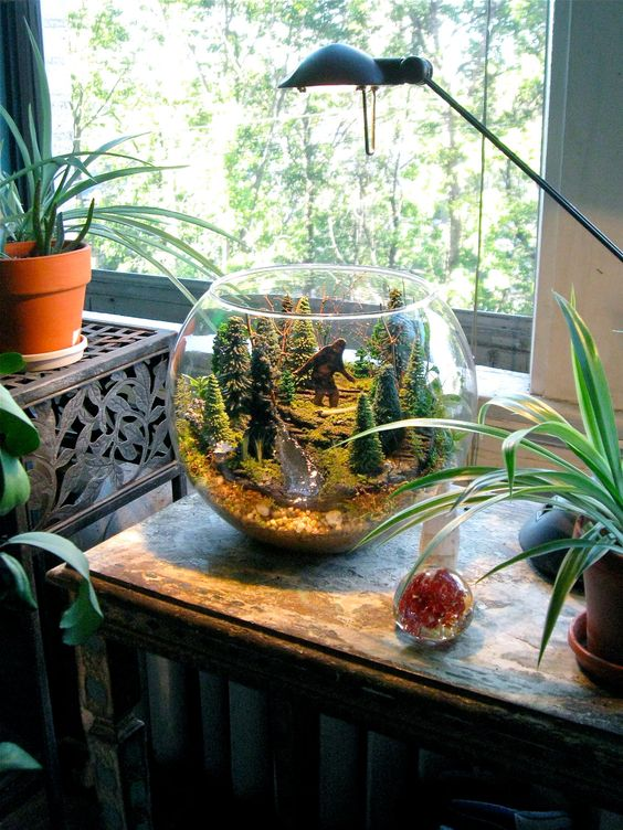 Bigfoot Terrarium