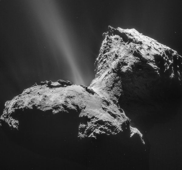 Comet 67P Churyumov-Gerasimenko on 6 February