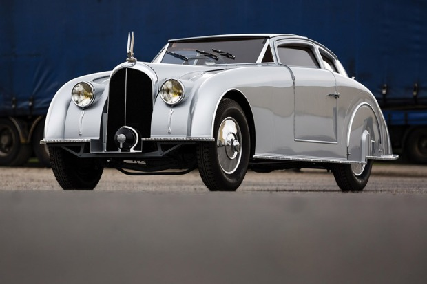 One of just two prototypes ever built, this 1935 Avions Voisin C28 Aerosport