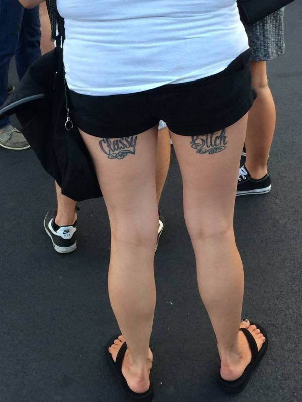 classy-bitch-tattooed-on-her-ass