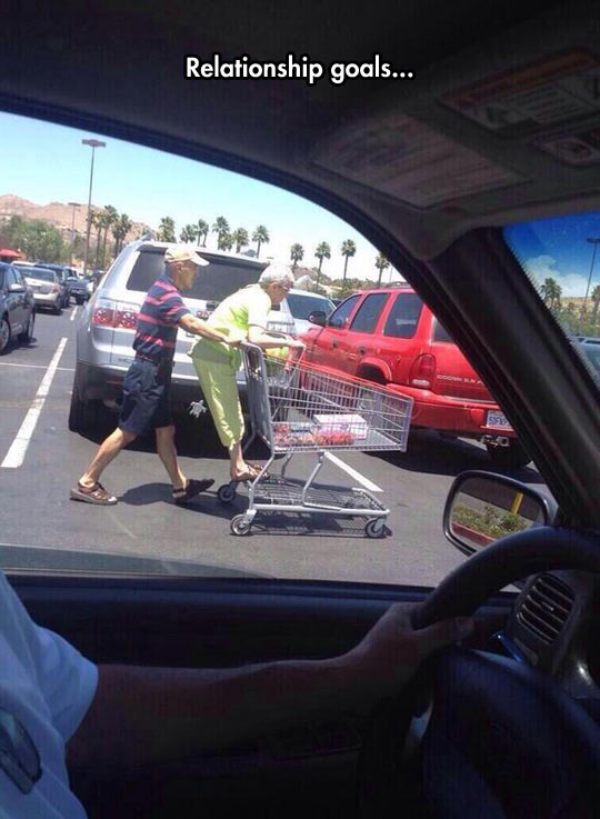 cool-parking-lot-couple-elderly-fun