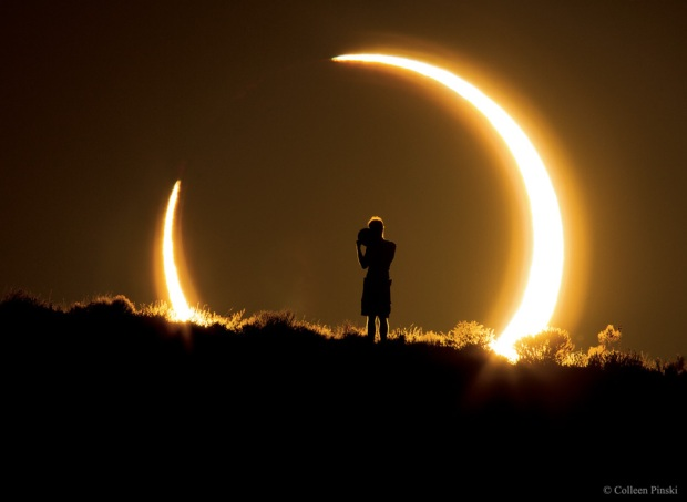 2012 Annular Solar Eclipse over New Mexico