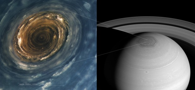 a-scale-comparison-of-saturns-north-pole-hurricane-with-its-hexagon