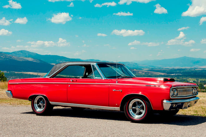 1965-dodge-coronet-500-red-profile